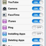 Securing an iDevice for a Child using Restrictions