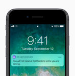 Do not disturb in iOS 11