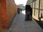 Walkway in Apartheid Museum