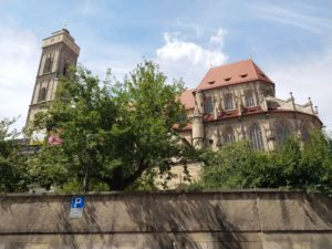 Back of Church of Our Lady Bamberg