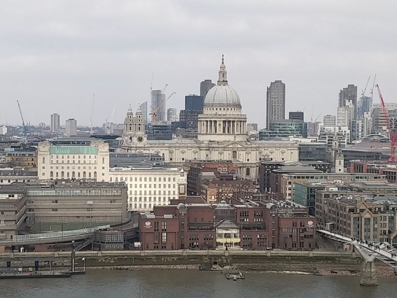 Visit to London in Pictures, Feb 2018
